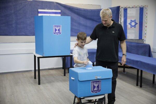 Parlamentné voľby v Izraeli.