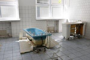 Opustená Nemocnica sv. Michala