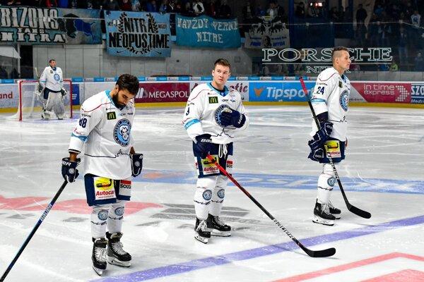 Hokejisti Nitry - ilustračná fotografia.