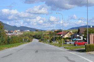 Ulica Pod Šalgovíkom.