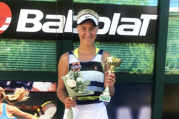 Bianca Behúlová si odniesla strieborný pohár zo štvorhry.