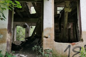 Takto to dnes vyzerá v budove bývalej ozdravovne.
