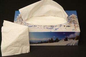 Patria papierové hygienické vreckovky do kontajnera na papier?