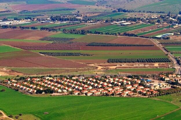 Takto vyzerá kibuc v Izraeli