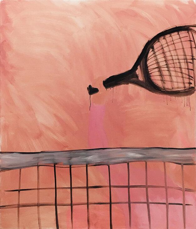 Dielo Seeking Butterflies od Evy Hettmer získalo 2. miesto v 14. ročníku súťaže Maľba 2019