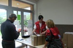 Potravinová pomoc na Kysuciach naďalej pokračuje.