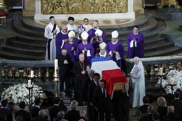 Rozlúčka so Jacquesom Chiracom.