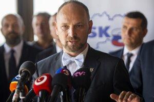 Župan Trnavského samosprávneho kraja (TTSK) Jozef Viskupič.