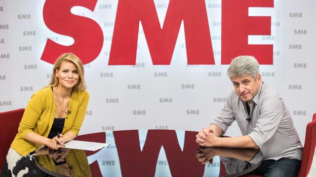Zuzana Kovačič Hanzelová a hudobný skladateľ Peter Breiner v relácii Rozhovory ZKH.