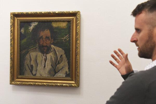 Fedor Manajlo: Starec, 1932, olej.