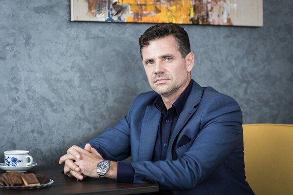 Hlavný akcionár finančnej skupiny Arca Capital Rastislav Velič.