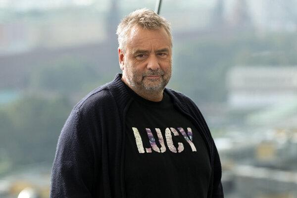 Francúzsky filmový režisér Luc Besson.