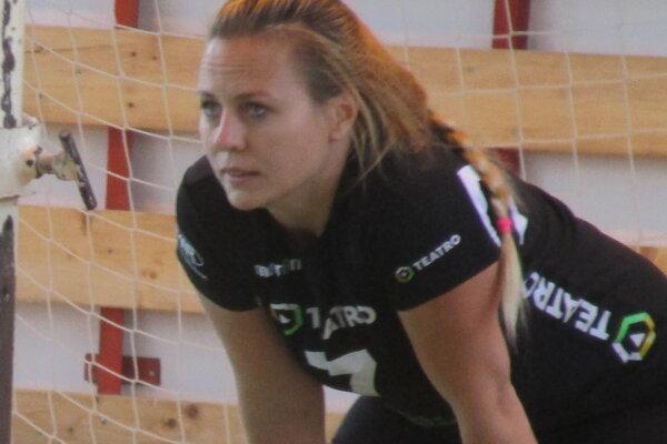 Lucia Kačániová patrí k najskúsenejším hráčkam Slovana