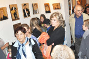 Výstava portrétov známych osobností.