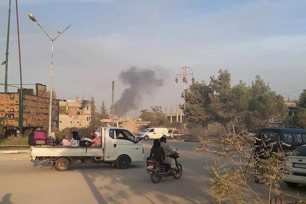 Jedným z terčov útokov je aj pohraničné mesto meste Rás al-Ajn.