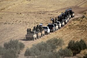 Turecká ofenzíva na sever Sýrie.