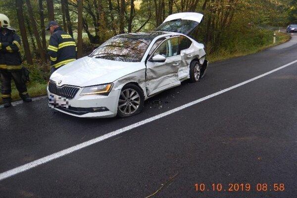 Vodička sa ľahko zranila.