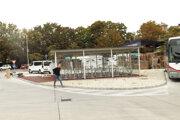 Cyklodepo na autobusovej stanici.