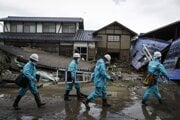 V Japonsku pokračujú záchranné práce po ničivom tajfúne Hagibis.