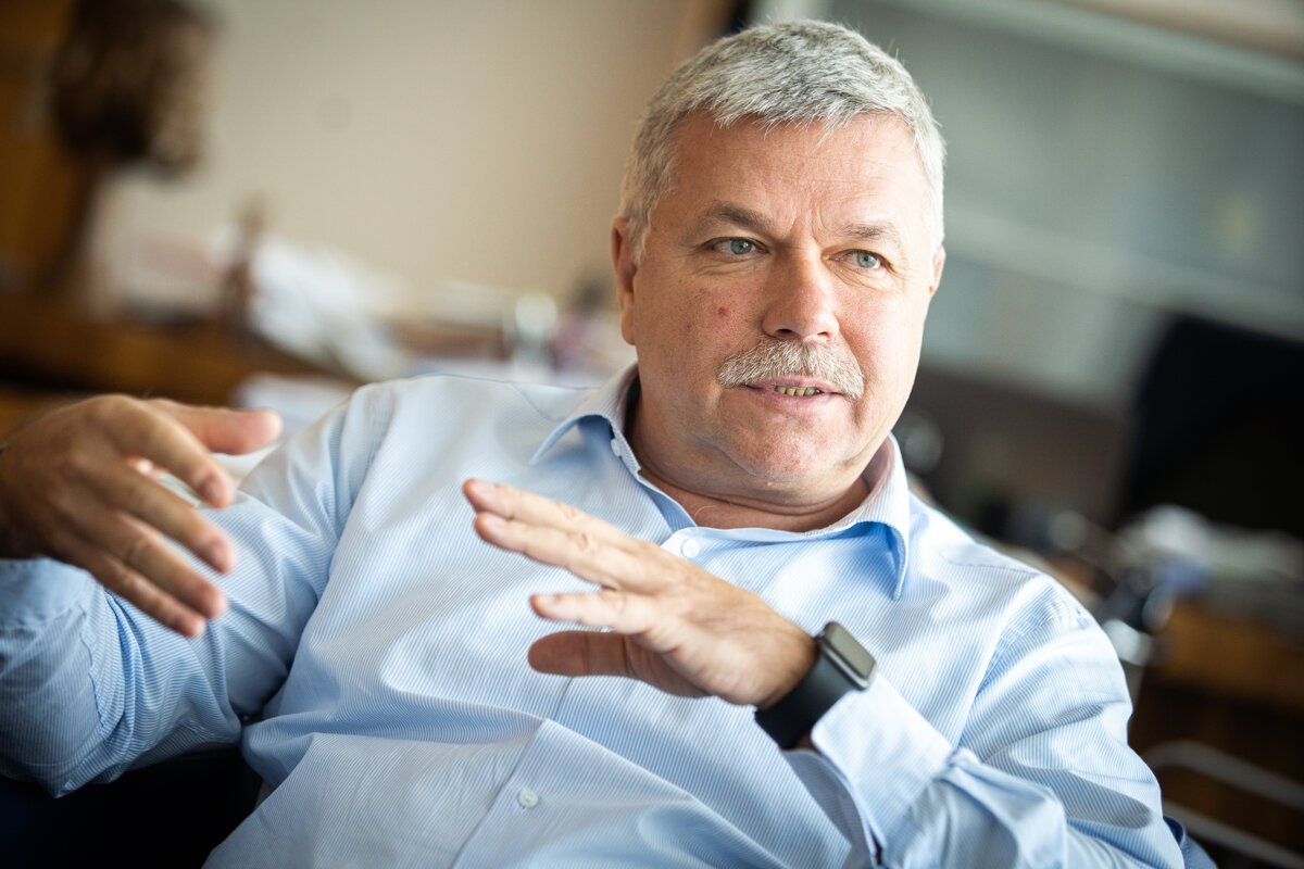 Ivan Šramko, predseda Rady pre rozpočtovú zodpovednosť.