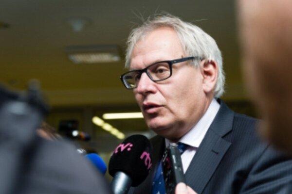Predseda Združenia podnikateľov Dolných Kysúc Ľubomír Janoška.