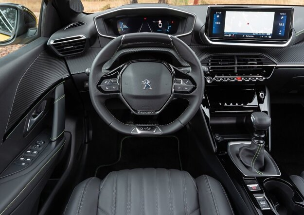 Interiér nového Peugeotu 208
