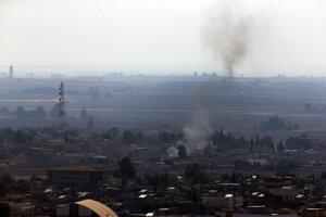 Zasiahnuté ciele v Sýrii.