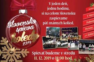 Slovensko spieva koledy 2019