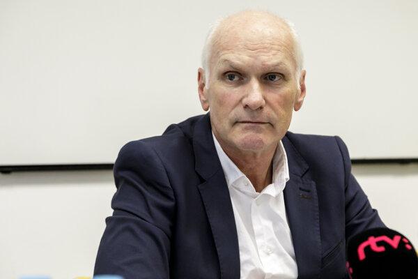 Predseda Slovenskej lekárskej komory Marian Kollár.