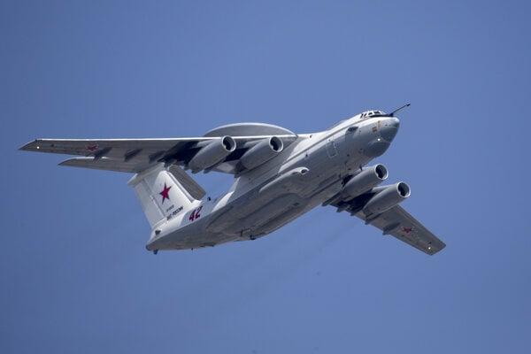 Lietadlo včasnej výstrahy a riadenia Beriev A-50 (ilustračné foto).