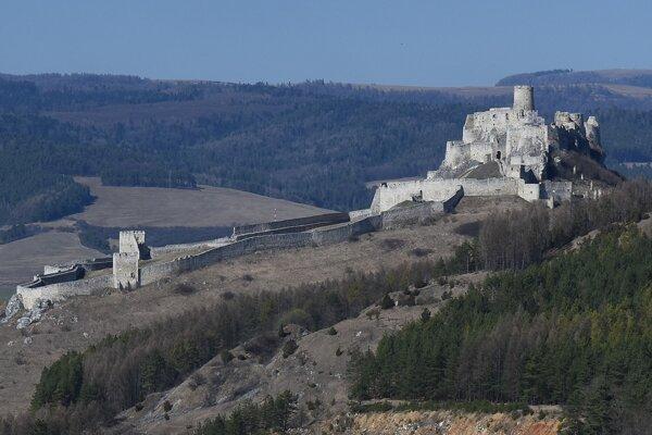 Spišský hrad.
