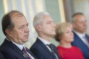 Prezident Únie miest Slovenska Richard Rybníček (vľavo).