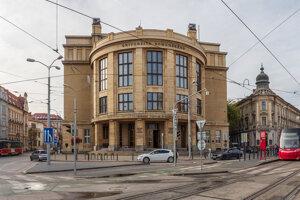 Budova Univerzity Komenského.