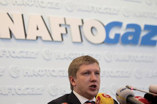 Generálny riaditeľ spoločnosti Naftogaz Andrij Kobolev.