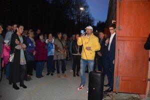 Otvorenia sa zúčastnilo množstvo návštevníkov.