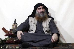 Vodca extrémistickej organizácie Islamský štát (IS) Abú Bakr Baghdádí.