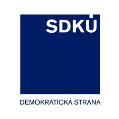 SDKÚ - DS - Slovenská demokratická a kresťanská únia - Demokratická strana (logo strany)