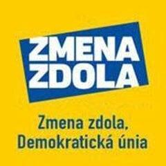 Zmena zdola, Demokratická únia Slovenska (logo strany)