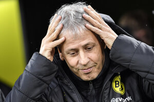 Tréner Borussie Dortmund Lucien Favre.