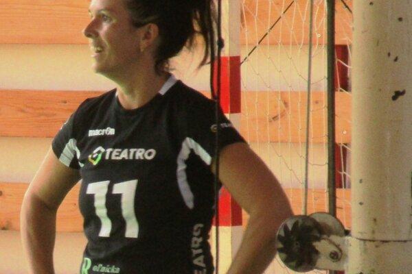 Beata Sojková hráva v Slovane Rimavská Sobota druhú sezónu.