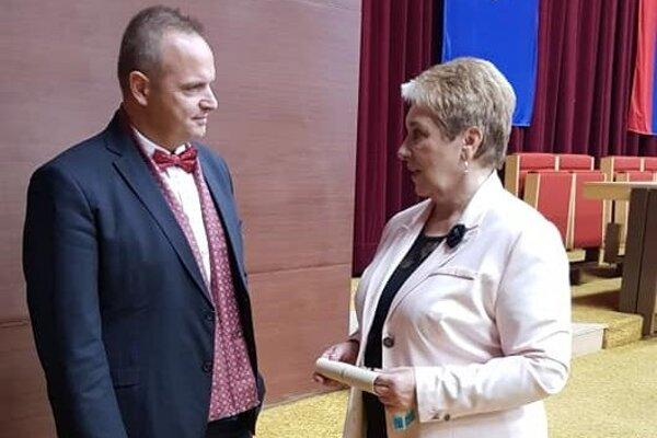 Patrik Groma a Marta Gutrajová.