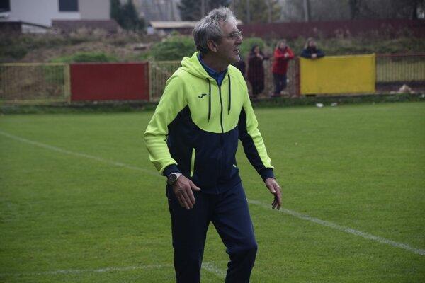 Jozef Šino, tréner TJ Tatran Krásno nad Kysucou.