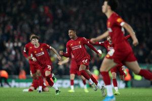Futbalisti FC Liverpool.