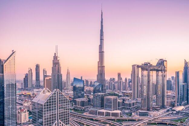 Najvyššia budova sveta Burj Khalifa v Dubaji