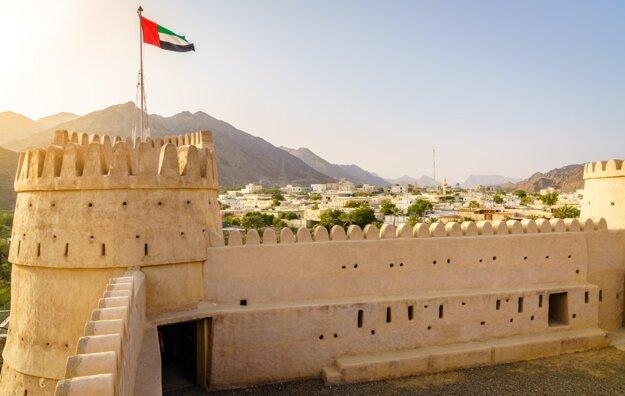 Pevnosť Al Bitnah v emiráte Fujairah