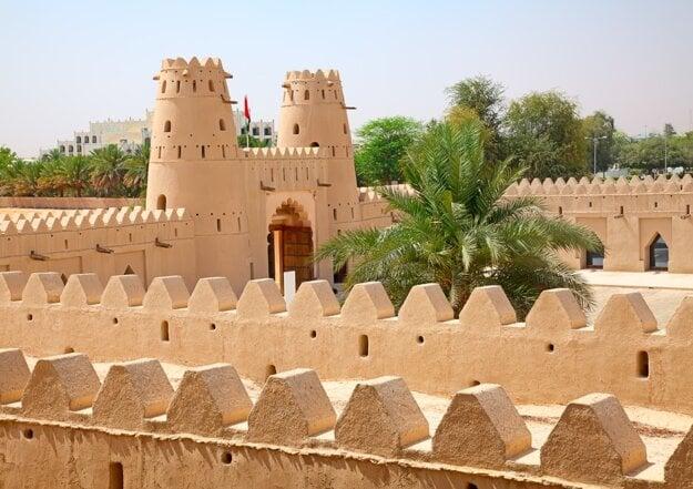 Pevnosť Jahili v oázach Al Ain