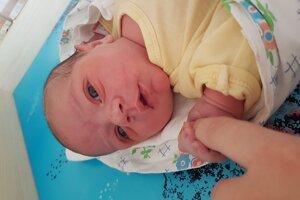 Alex Fabo (3970 g, 54 cm) sa narodil 12. októbra Ivone a Martinovi z Mníchovej Lehoty.