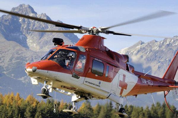 Horskí aj leteckí záchranári majú každý rok viac práce.