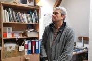 Miroslav Števík, aktivista študentského hnutia, v súčasnosti historik Múzea Spiša.