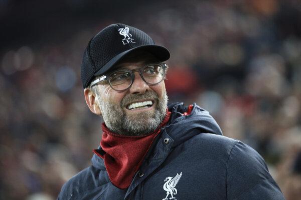 Tréner FC Liverpool Jürgen Klopp.
